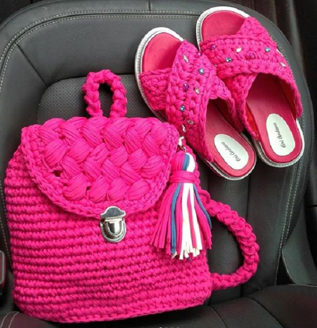 Бренд Koza_kh: Хиты сезона – вязаные сумки, купальники и даже шлепанцы!