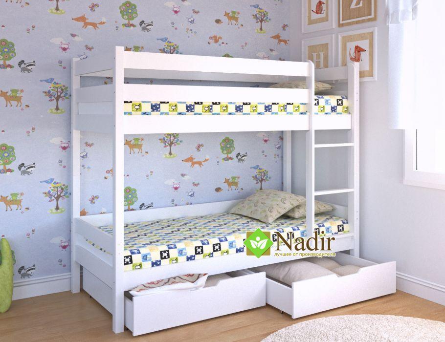 Детские двухъярусные кровати – решение для небольших комнат