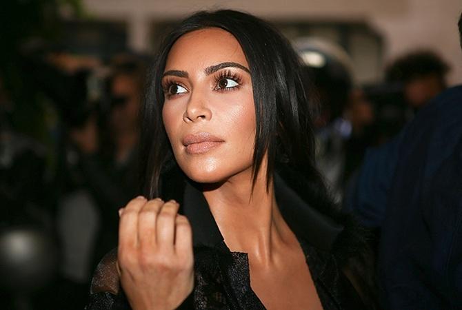 Ким Кардашьян удивила необычным нарядом