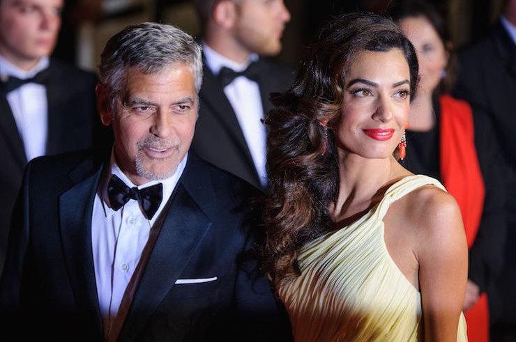 Джордж и Амаль Клуни станут крестными родителями первенца принца Гарри и Меган Маркл