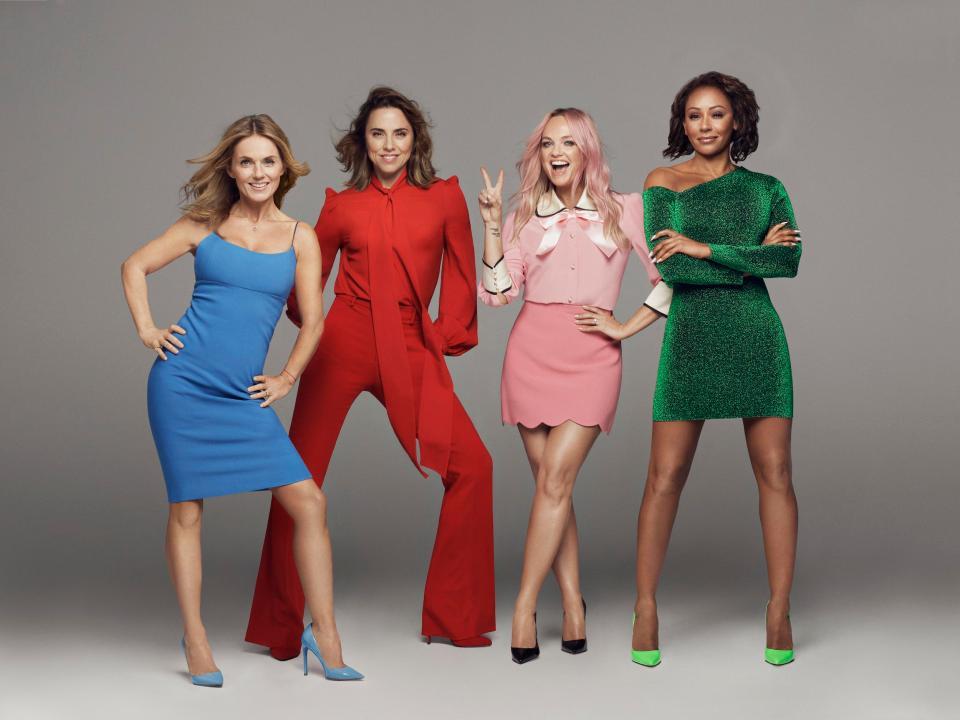 Воссоединившиеся Spice Girls отправятся в турне