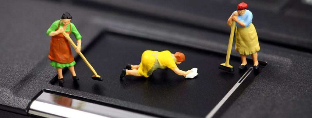 5 советов о том, как почистить свой ноутбук