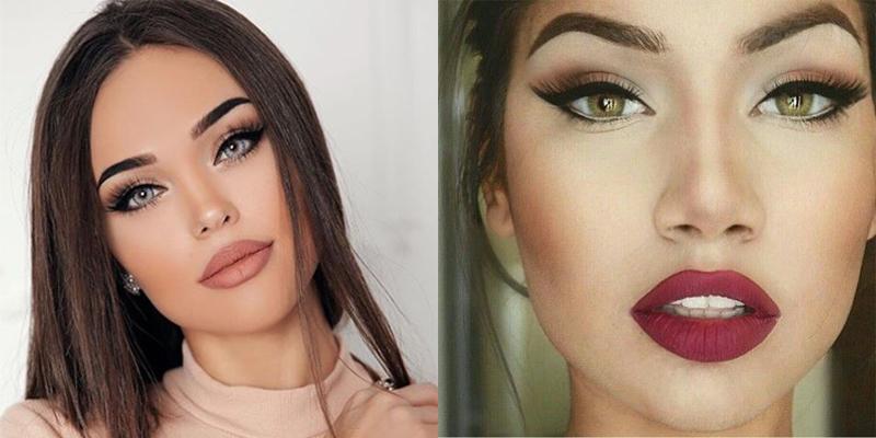 Тенденции макияжа зимой 2018-19