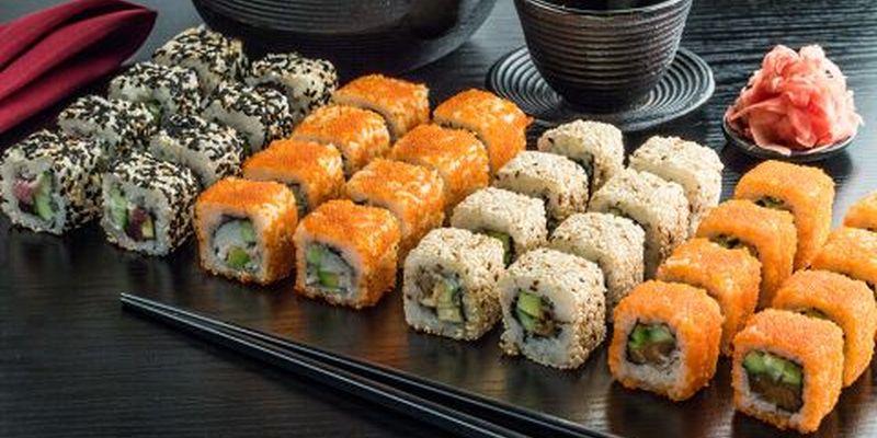 Преимущества службы доставки суши в Харькове