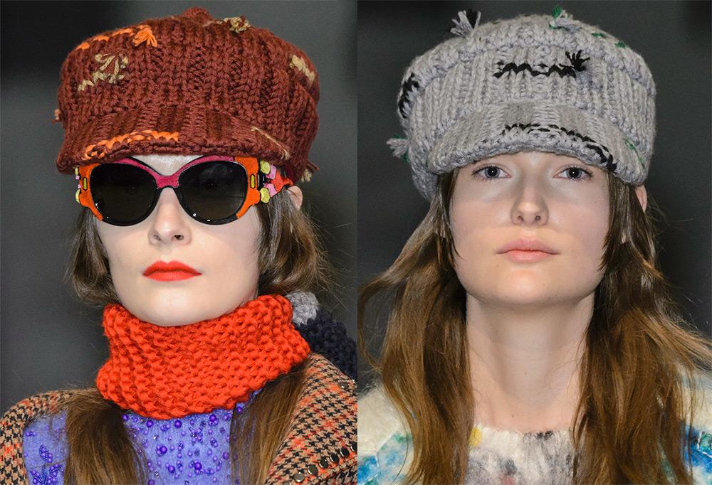 Какие шапки и шарфы модные этой зимой?