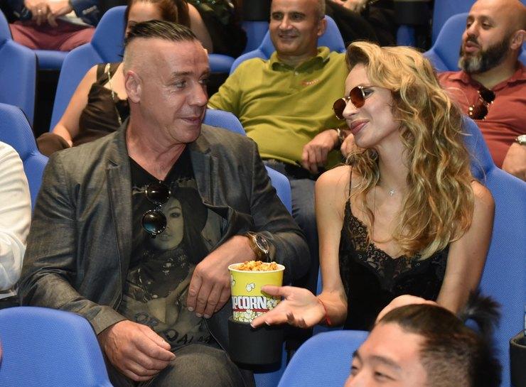 Светлана Лобода иеедочь незаметно для иных  посетили концерт Линдеманна