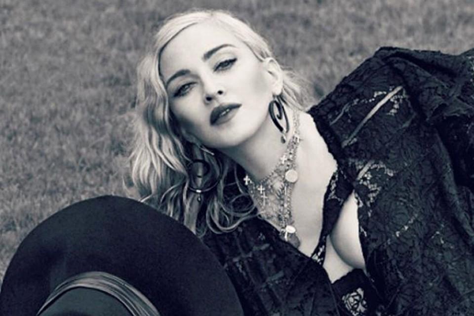 Мадонна показала раритетное обнаженное фото 40-летней давности