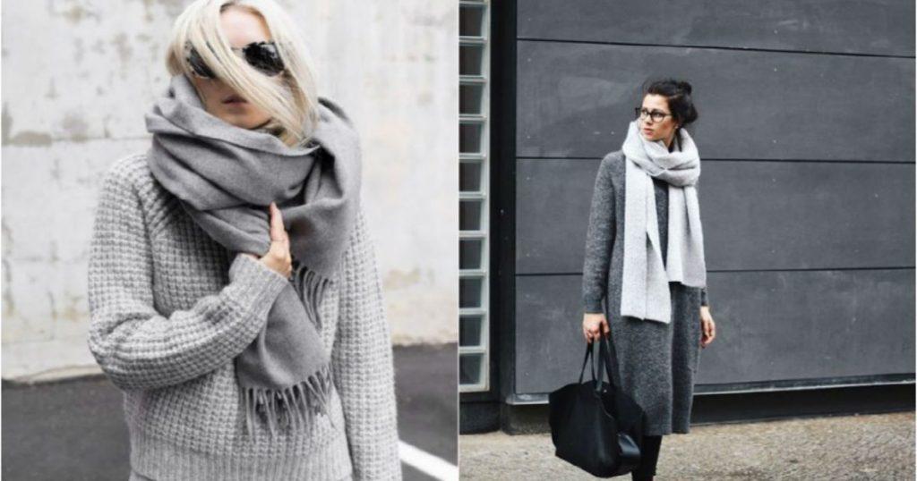 4 шарфа, которые нужны каждой женщине