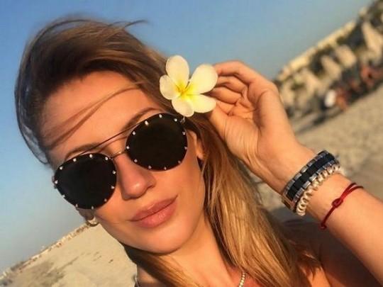 Новый купальник: Леся Никитюк снова хвастается отдыхом на Мальдивах