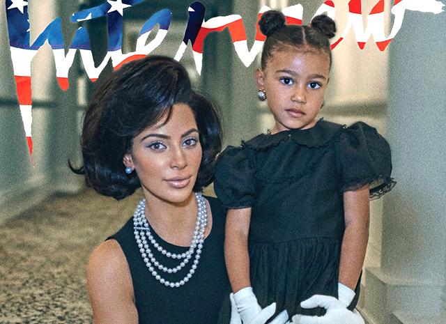 Ким Кардашьян подарила 5-летней и годовалой дочкам дизайнерские сумки за тысячу долларов