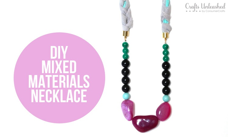 Как сделать интересное ожерелье из бусин из натурального камня