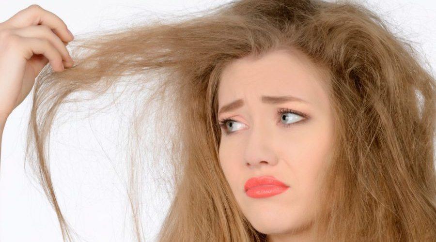 Причины истощенных и сухих волос