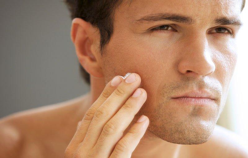 Чувствительная кожа у мужчин — особенности