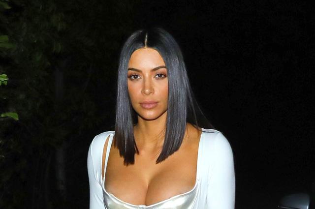 Ким Кардашьян стала зависима от пластических операций
