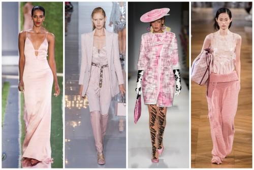 Модные цвета сезона весна/лето 2019