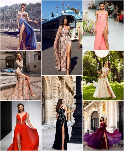 Модные выпускные платья 2019
