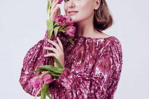 Наталья Могилевская похвасталась стильным луком