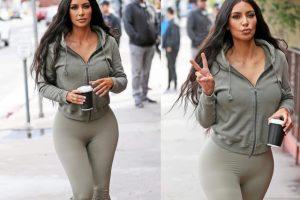 Ким Кардашьян бережет молодость лица весьма странным способом