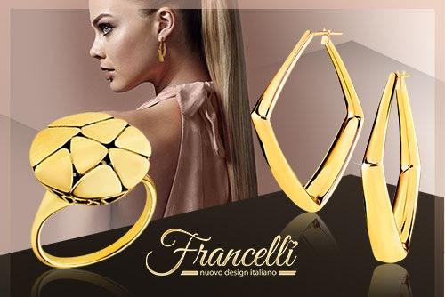 Francelli: модные мотивы итальянских украшений