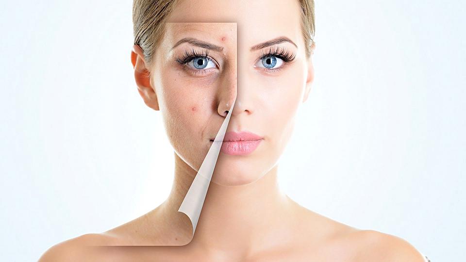 Последствия сна с макияжем на лице