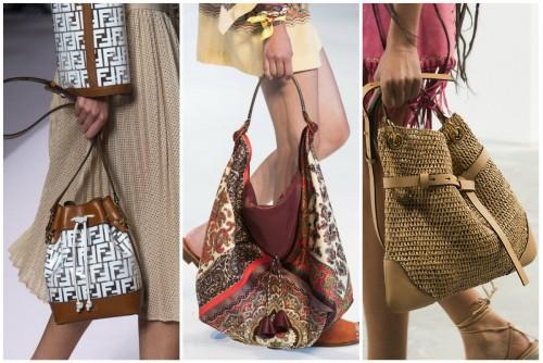 Модные сумки весной/летом 2019 года