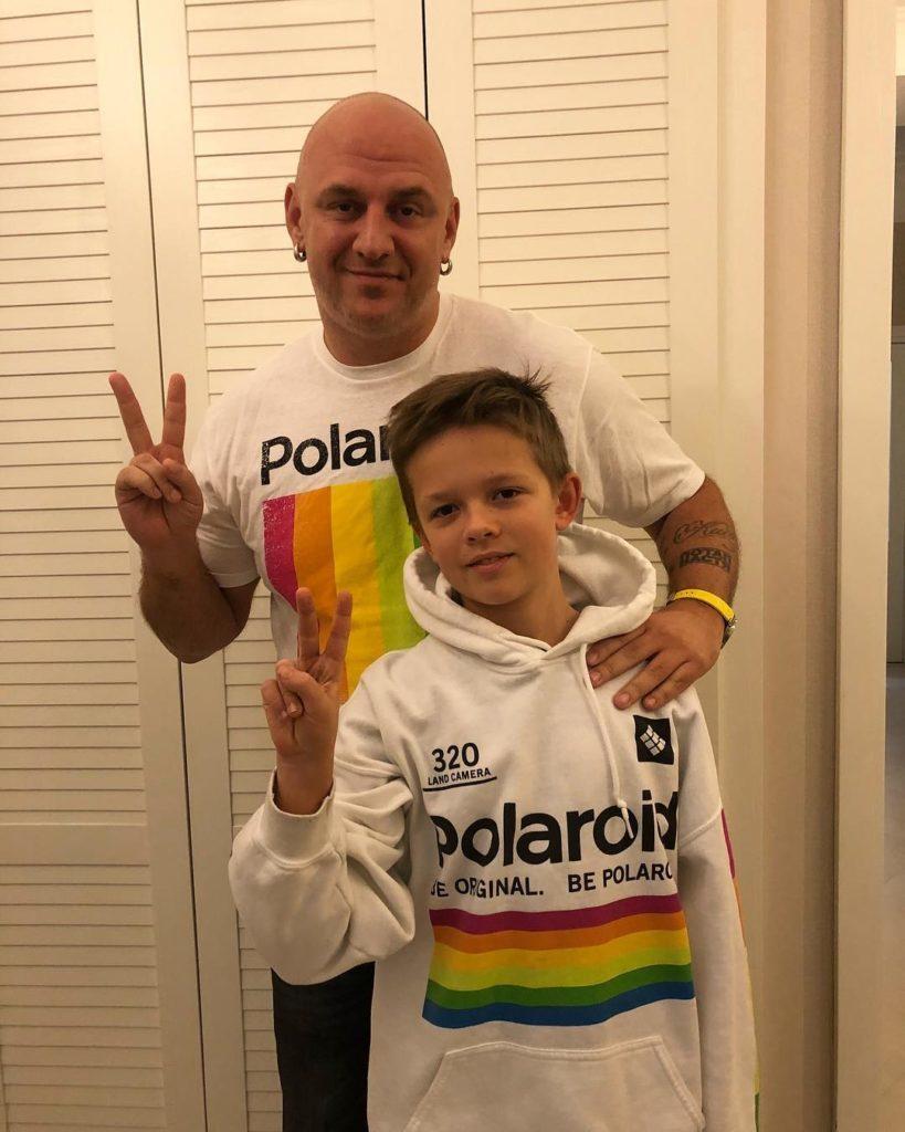 Папина гордость: Потап показал редкое фото подросшего сына