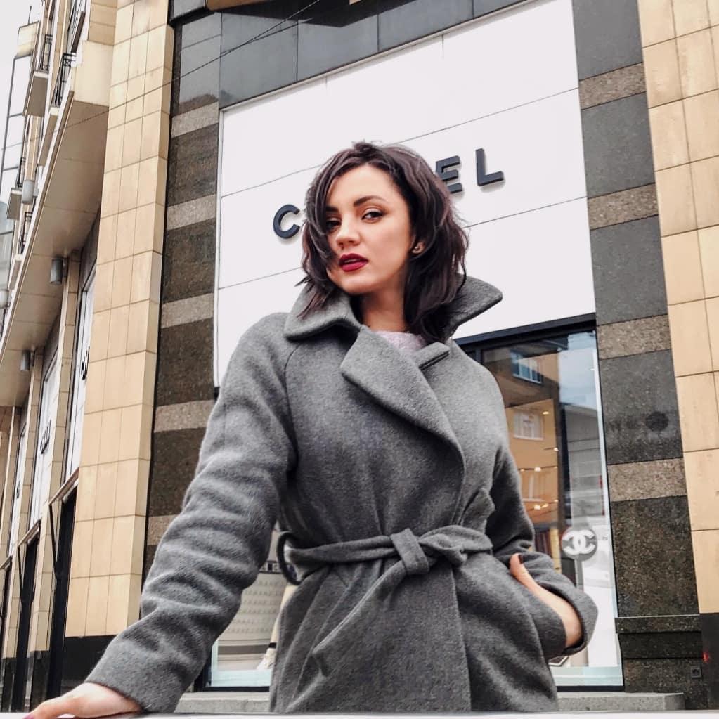 Ольга Цибульская  впервые появилась на обложке журнала вместе с сыном