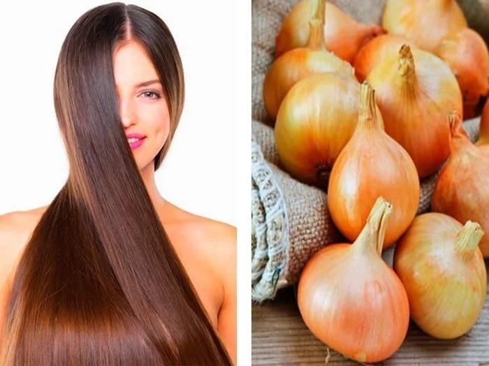 Маски с луковым соком для быстрого роста волос