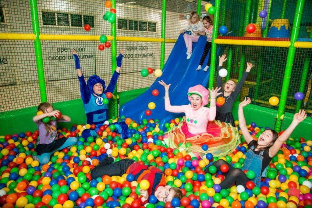 Детские развлекательный комплекс в центре Киева: где провести время семьей?
