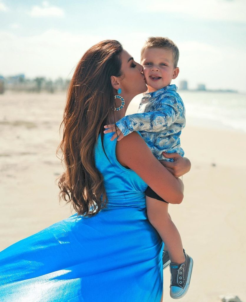 Анна Седокова с размахом отметила день рождения своего сына