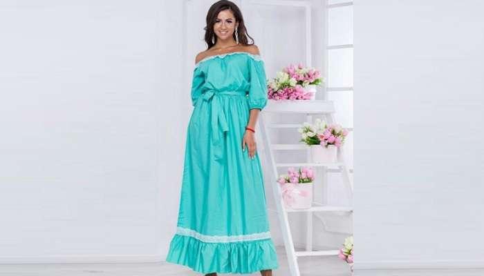 Летнее платье способно задать настроение