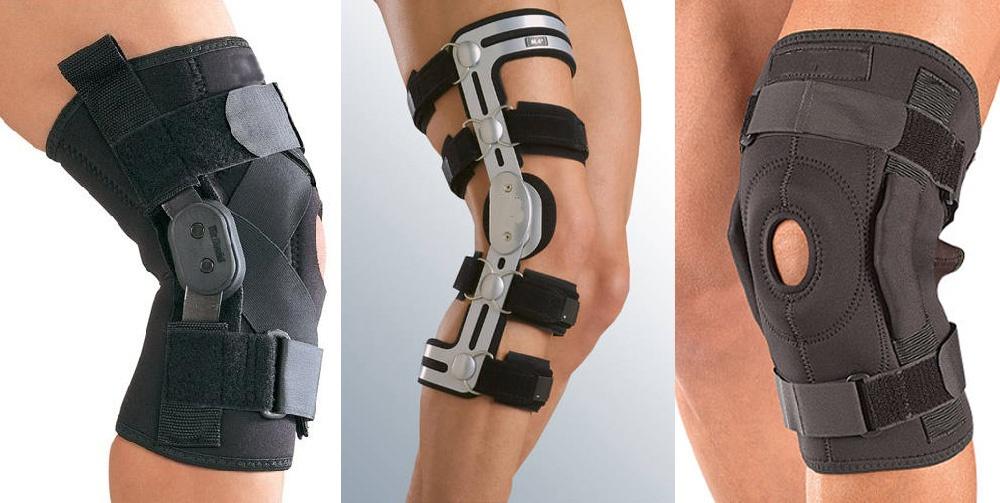 Чем фиксируют колено при травмах?