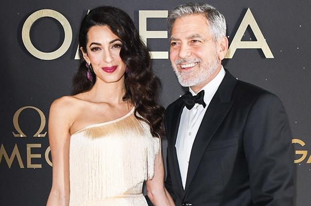 Жена запретила Джорджу Клуни ездить на мотоцикле
