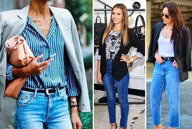 7 советов, как носить джинсы с высокой талией