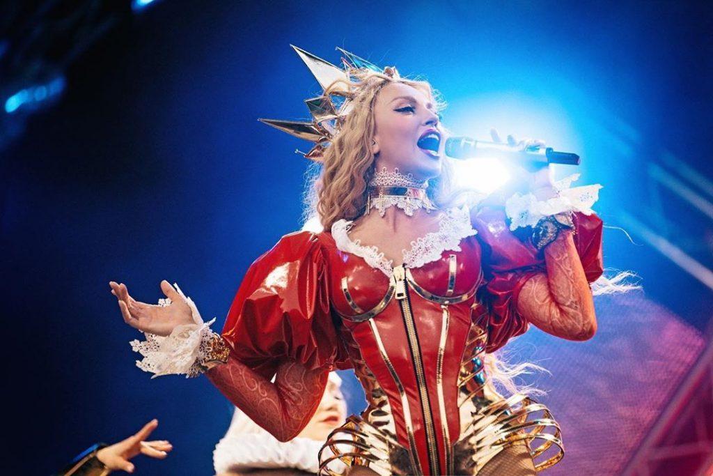 Оля Полякова стала членом жюри нового сезона популярного телешоу «Х-фактор»
