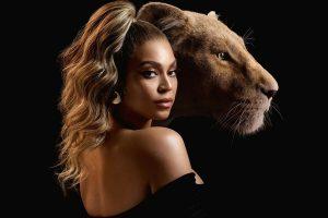 Бейонсе покорила роскошным нарядом на премьере фильма «Король Лев»