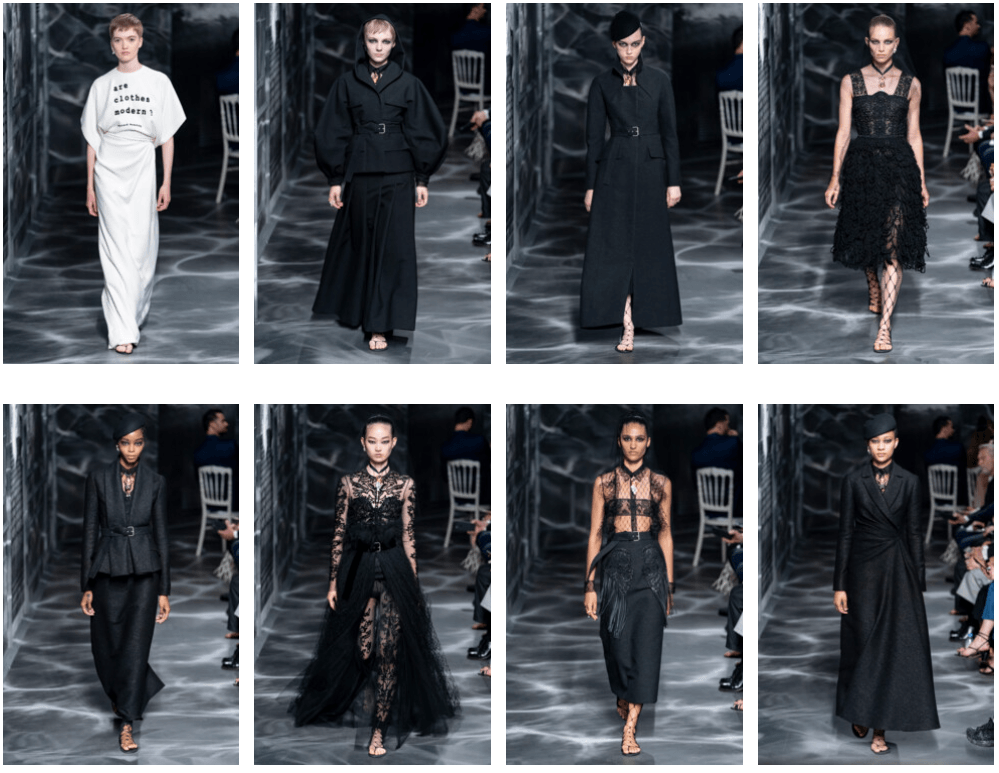 """Are Clothes Modern?"" — детали показа Christian Dior Couture осень-зима 2019/2020"
