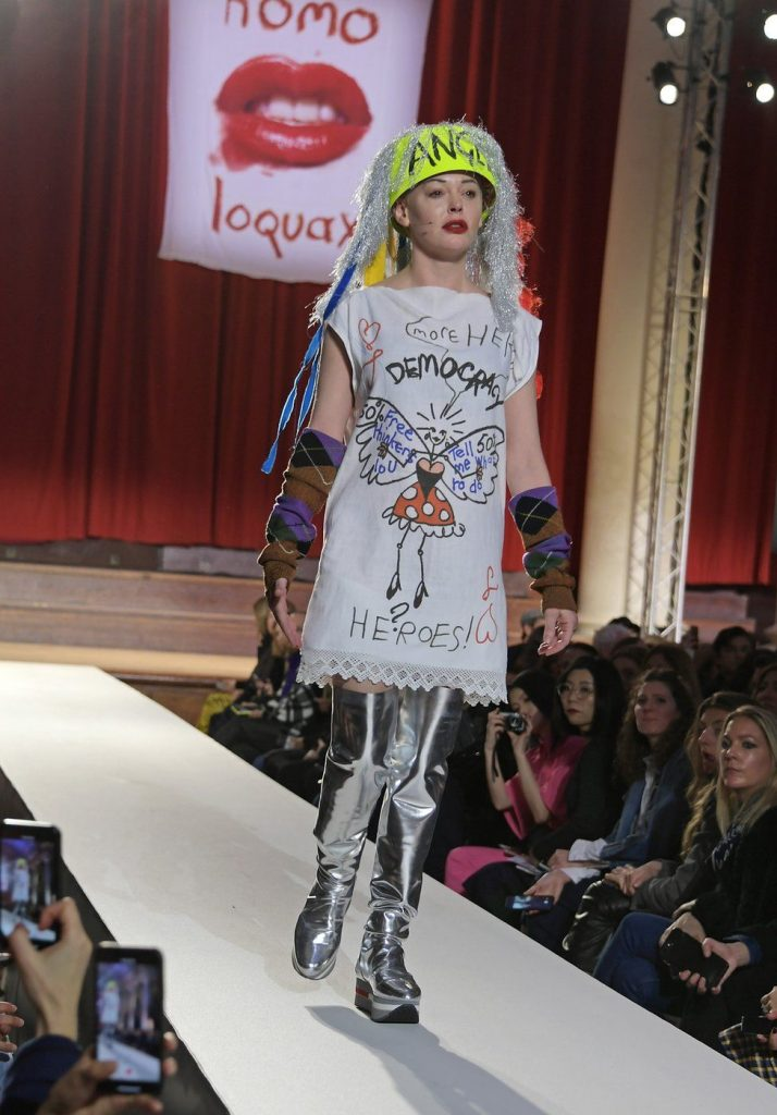 Лондонская неделя моды 2018; фото bbc.com