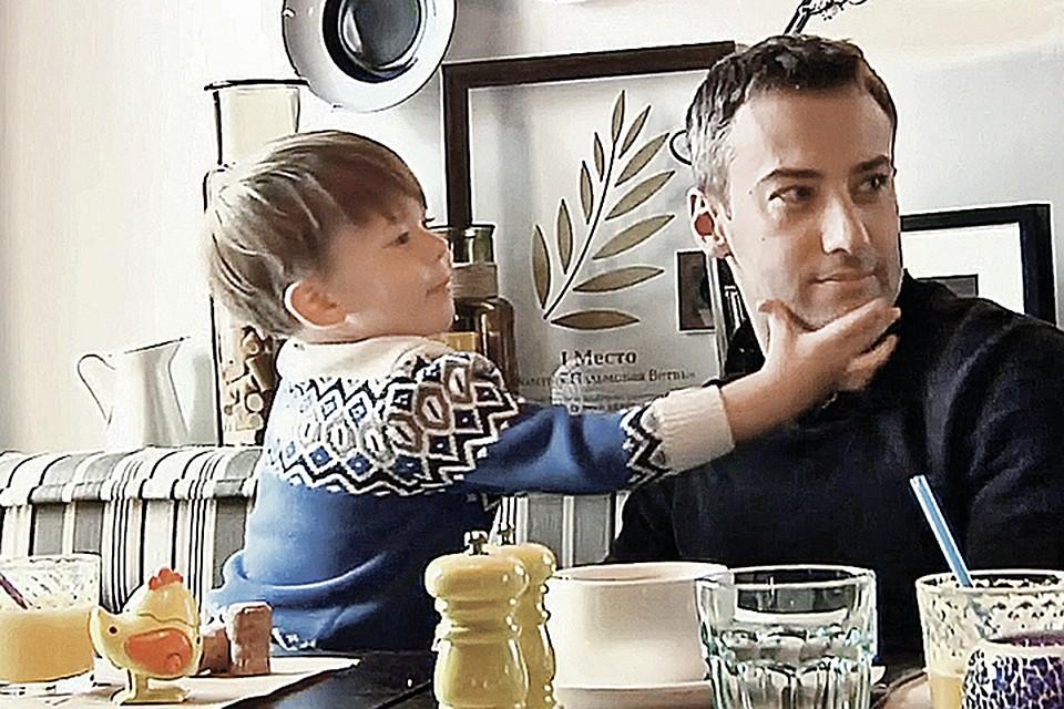Дмитрий Шепелев напугал сына