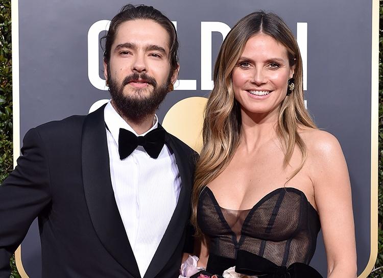Странный медовый месяц: Хайди Клум загорает топлес на глазах у брата своего мужа