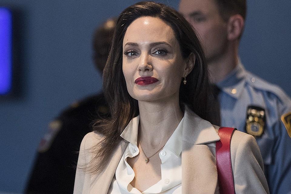 Анджелина Джоли мечтает сняться в «Звездных войнах»
