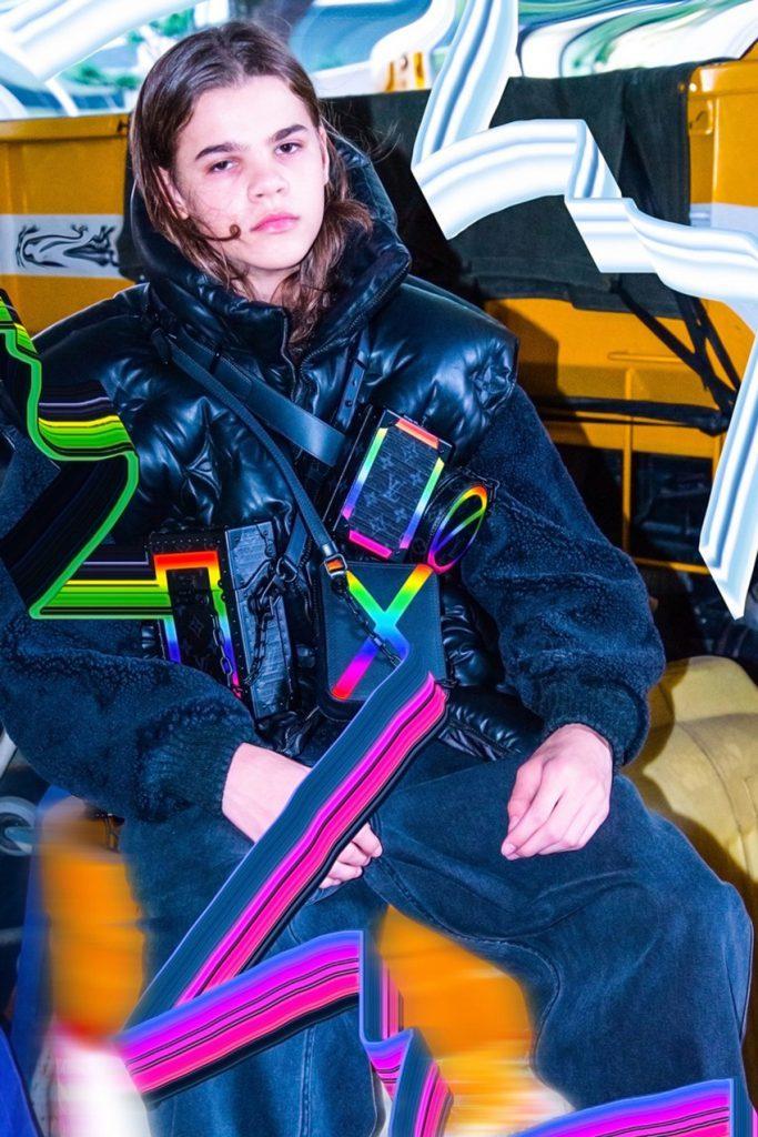 Louis Vuitton в неоновых тонах футуристичного Токио: новый кампейн мужской коллекции