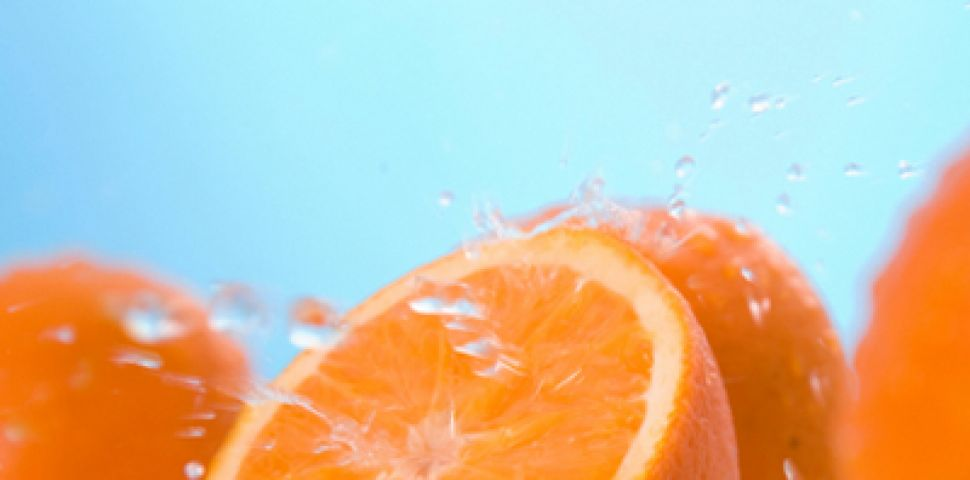 Натуральная маска для лица из апельсиновой кожуры