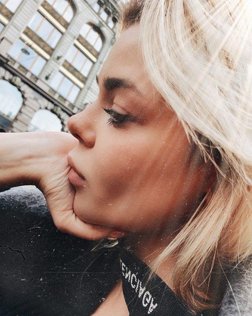 Алина Гросу улетела в Копенгаген: фото