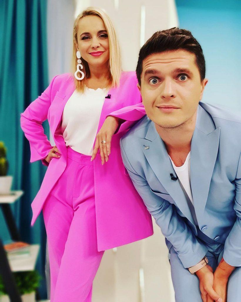 Анатолий Анатолич и Лилия Ребрик продемонстрировали идеальный парный лук
