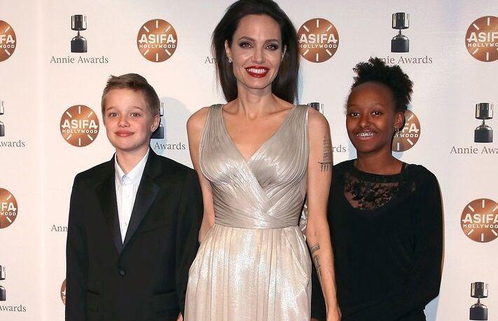 Дочь Анджелины Джоли надела на прогулку платье матери за 3600 долларов