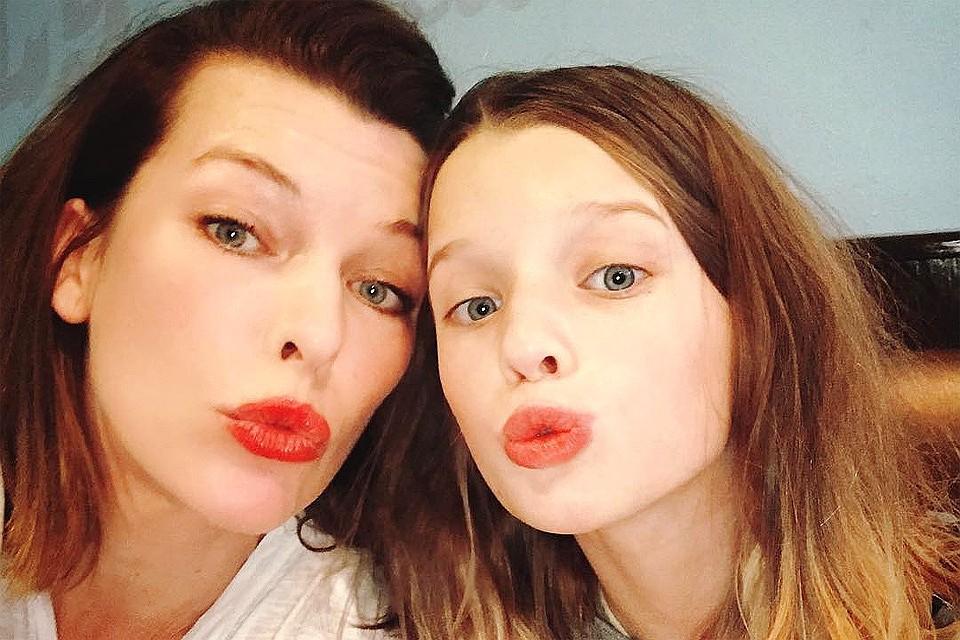 11-летняя дочь Милы Йовович дебютировала как фотомодель