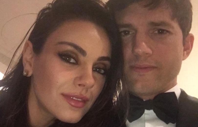 Мила Кунис отреагировала на скандал между Эштоном Кутчером и его экс-женой Деми Мур