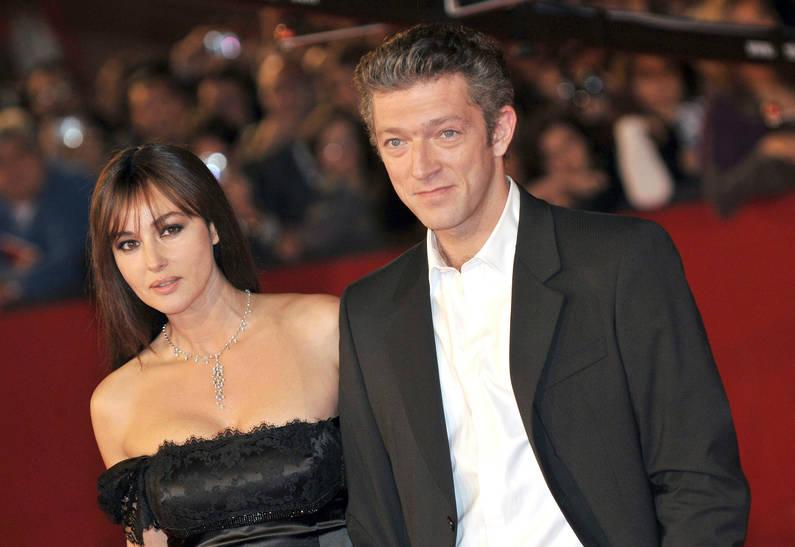 Впервые за много лет после развода Моника Белуччи и Венсан Кассель появились на публике вместе