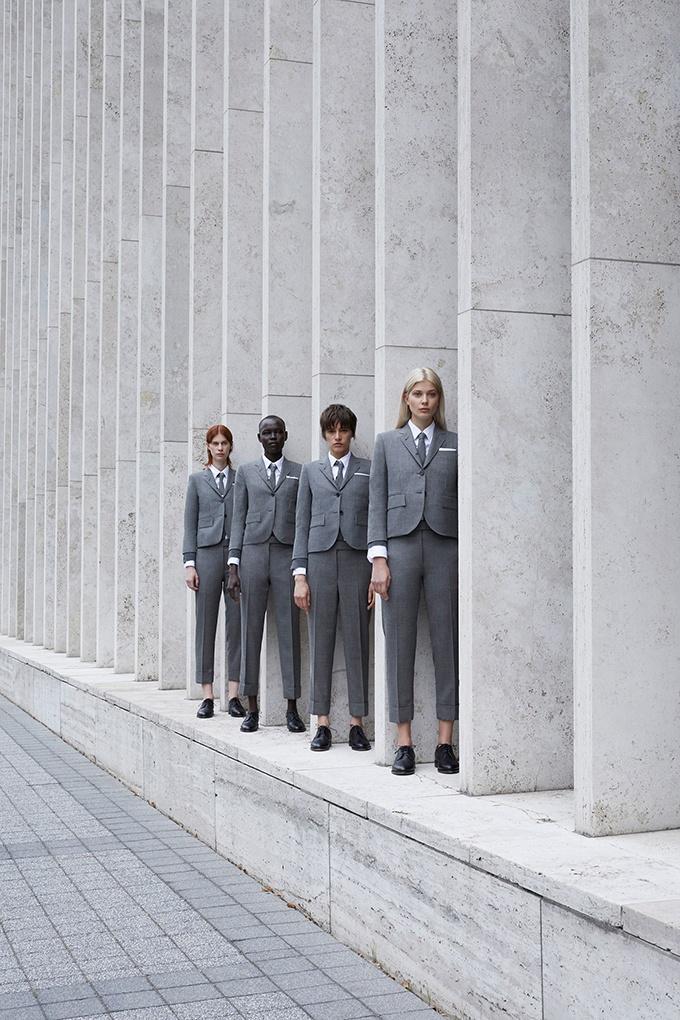 Индивидуальный пошив женских костюмов от Thom Browne